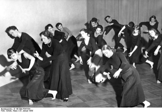 Berlin, Mary Wigman-Studio
